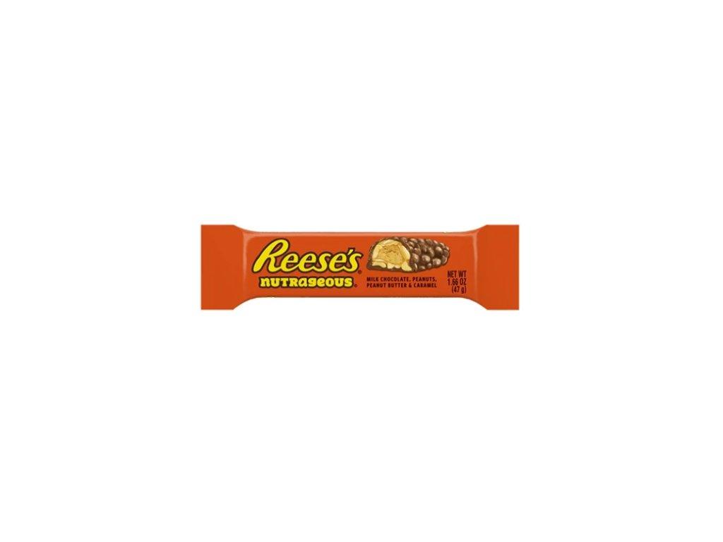 Reese's tyčinka s arašídy, karamelem a čokoládovou polevou - PEPIS.SHOP
