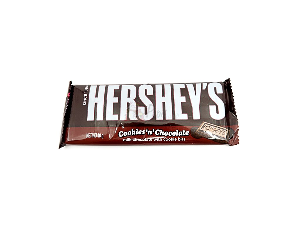 Hershey's s mléčnou čokoládou a sušenkami - PEPIS.SHOP