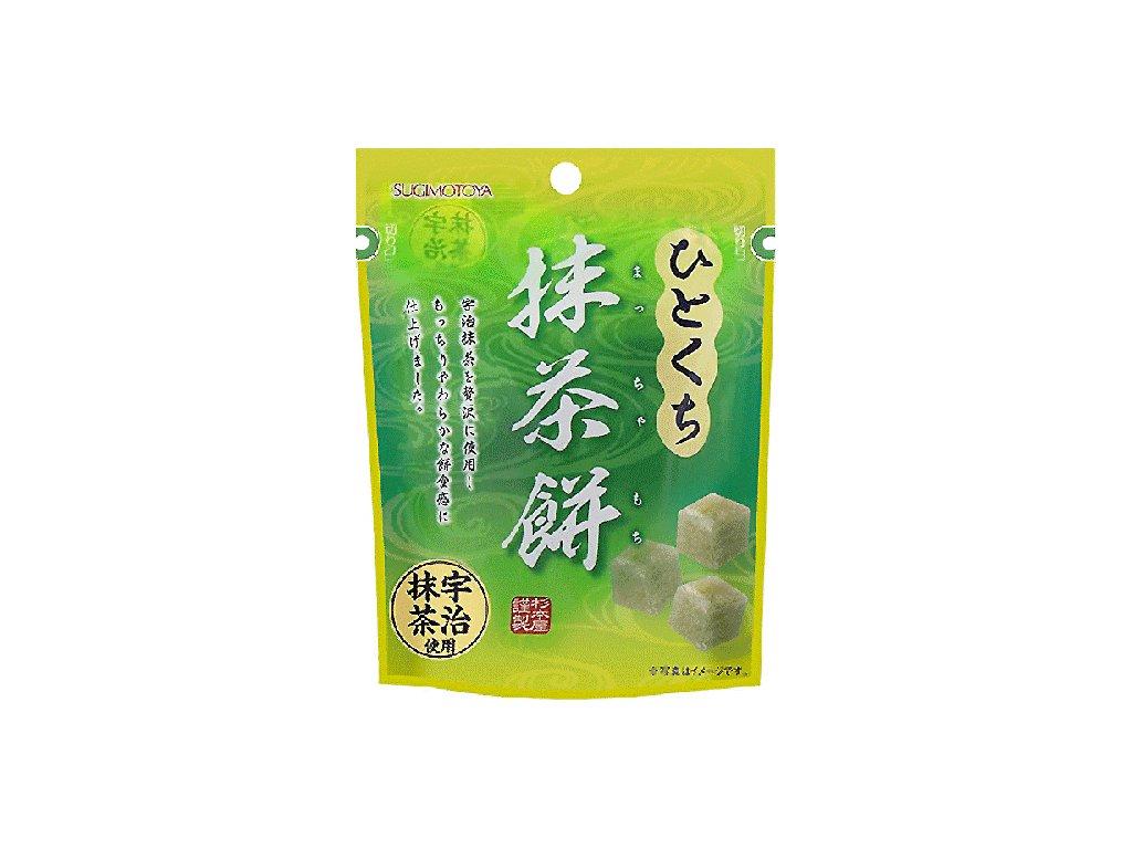 sugimotoya hitokuchi matcha mochi 42g (1)