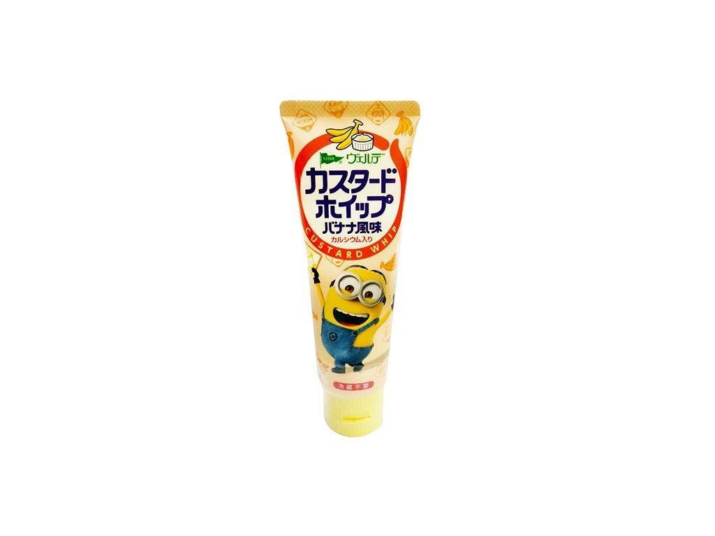 Verde Bread Spread Whipped Minion Custard & Banana Cream Poleva V Tubě100g JAP