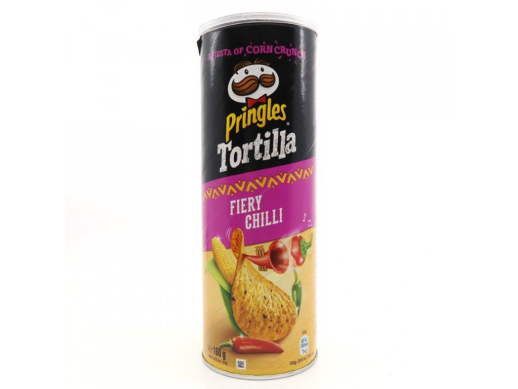Tortilové Pringles s příchutí pálivé chilly - PEPIS.SHOP