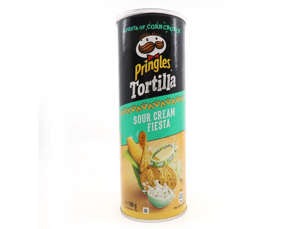 Tortilové Pringles s příchutí sour cream - PEPIS.SHOP