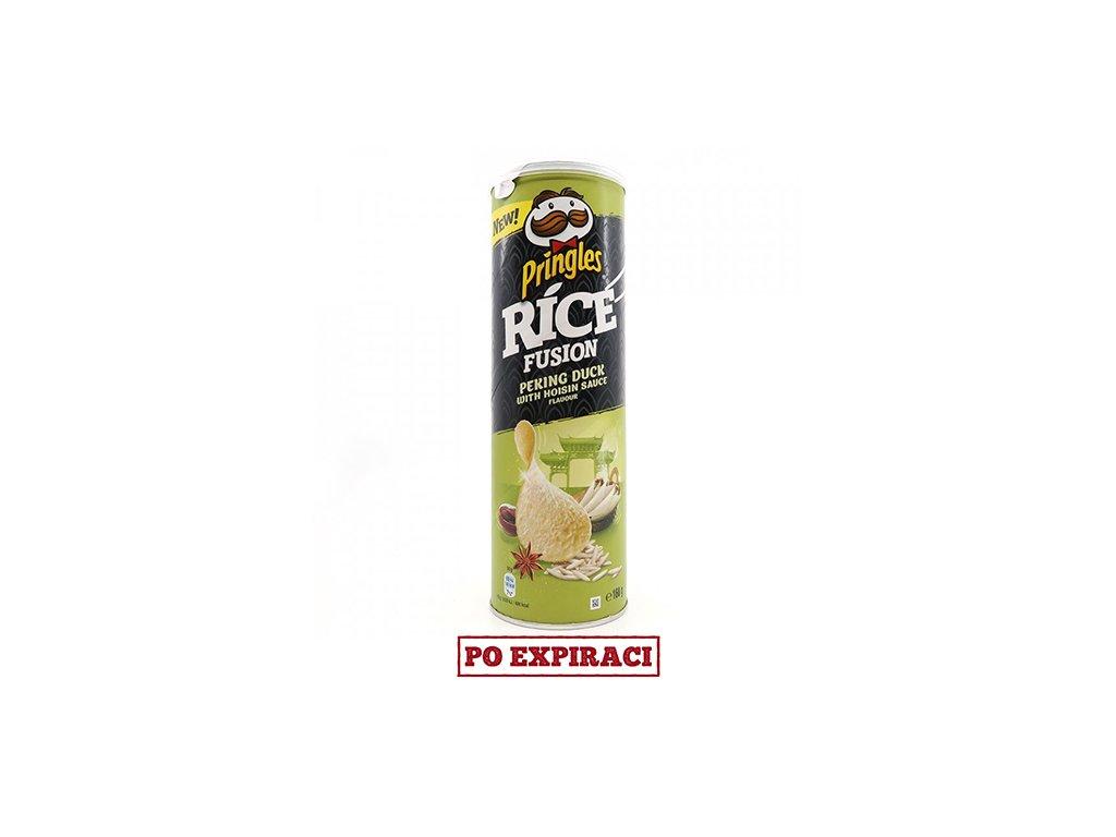 Rýžové Pringles s Příchutí Pekingské Kachny 160g EU
