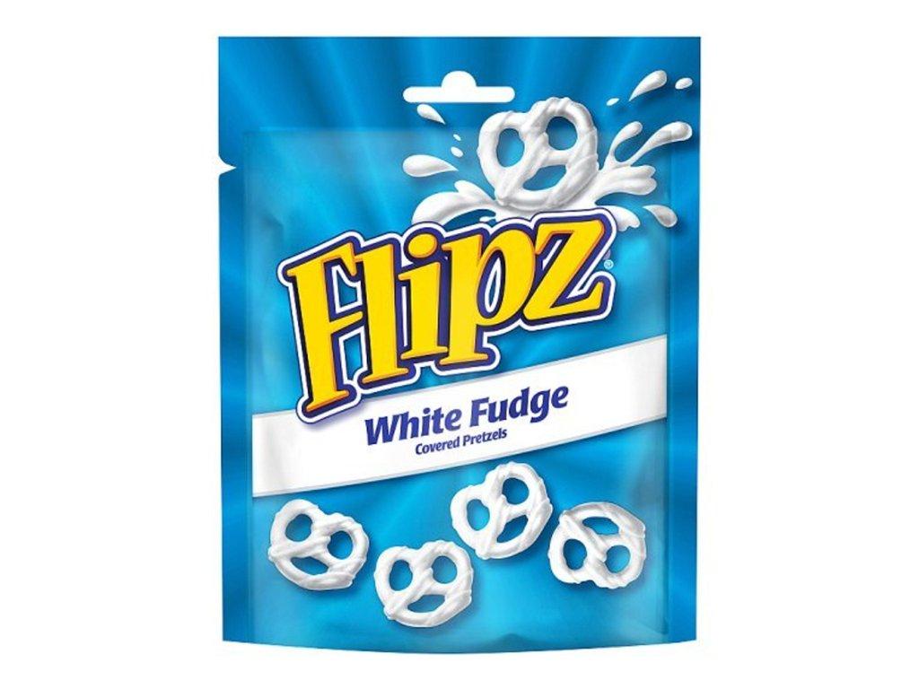 Flipz White Fudge Pretzels 90g UK