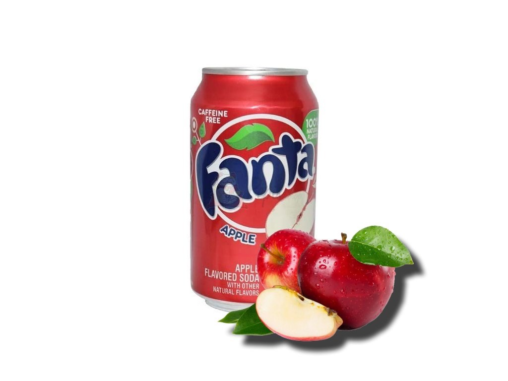 Fanta jablko, 355ml - PEPIS.SHOP