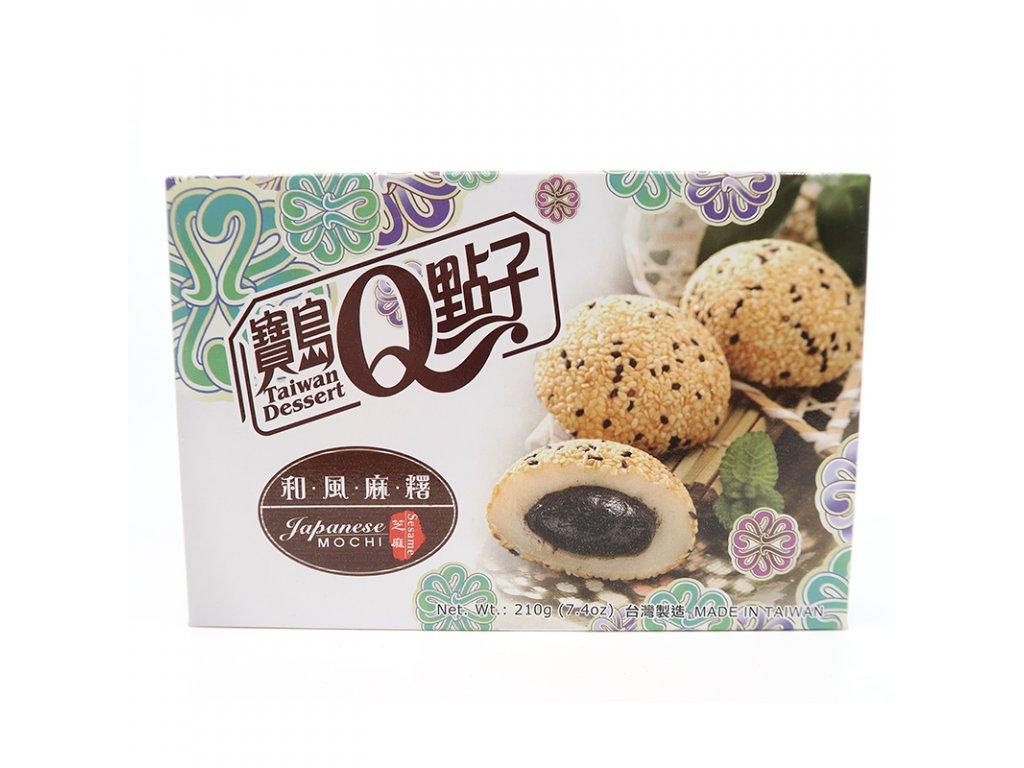 Mochi rýžové koláčky sezamové - PEPIS.SHOP