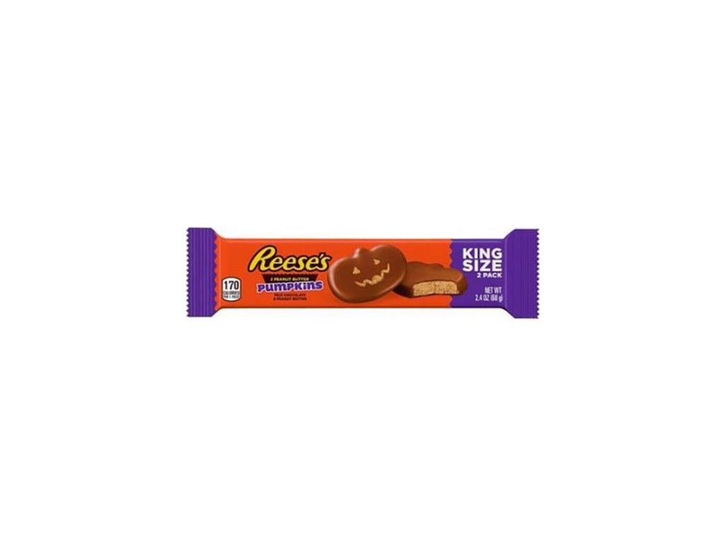 Reese's 2 Peanut Butter Pumpkins King Size 68g USA