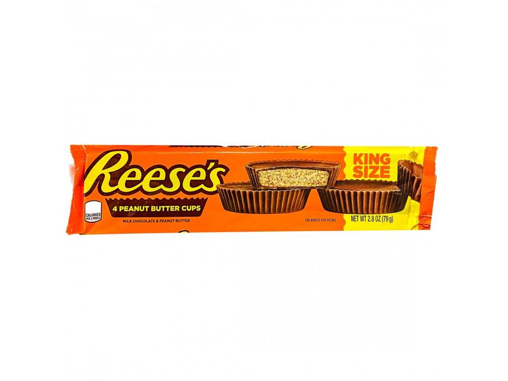 Reese's 4 Košíčky Plněné Burákovým Máslem 79g USA