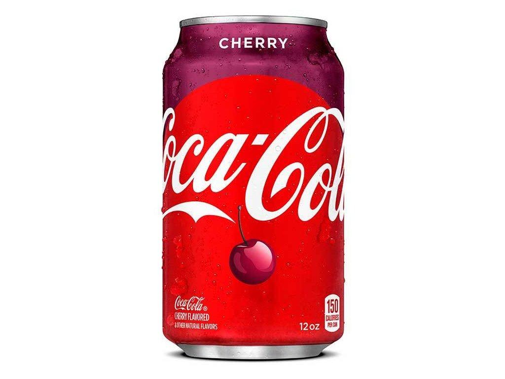 coca cola usa cherry can