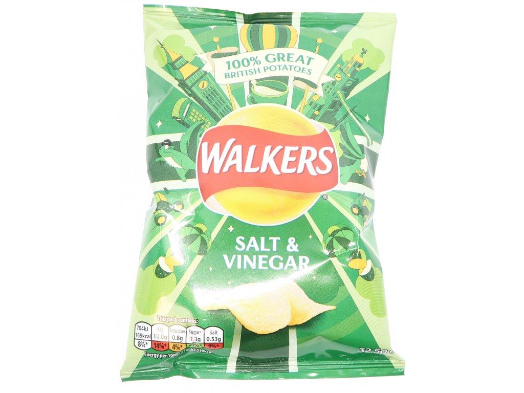 Walkers chipsy solené s octem 33g - PEPIS.SHOP