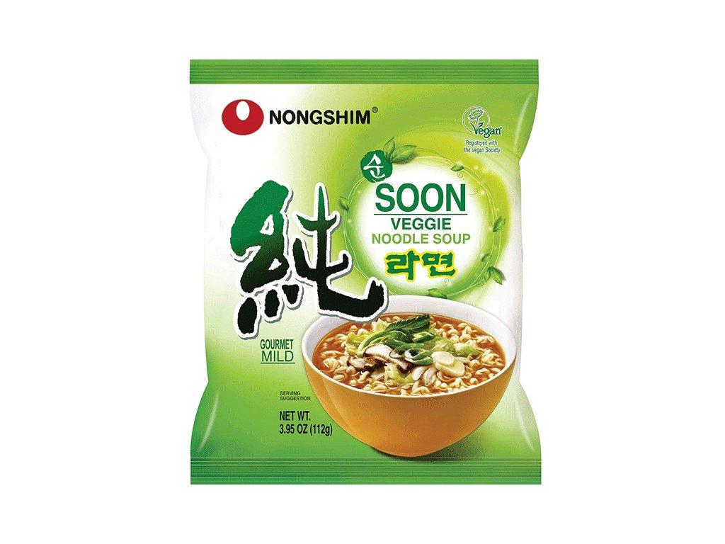 nongshim soon veggi ramen mild 112g