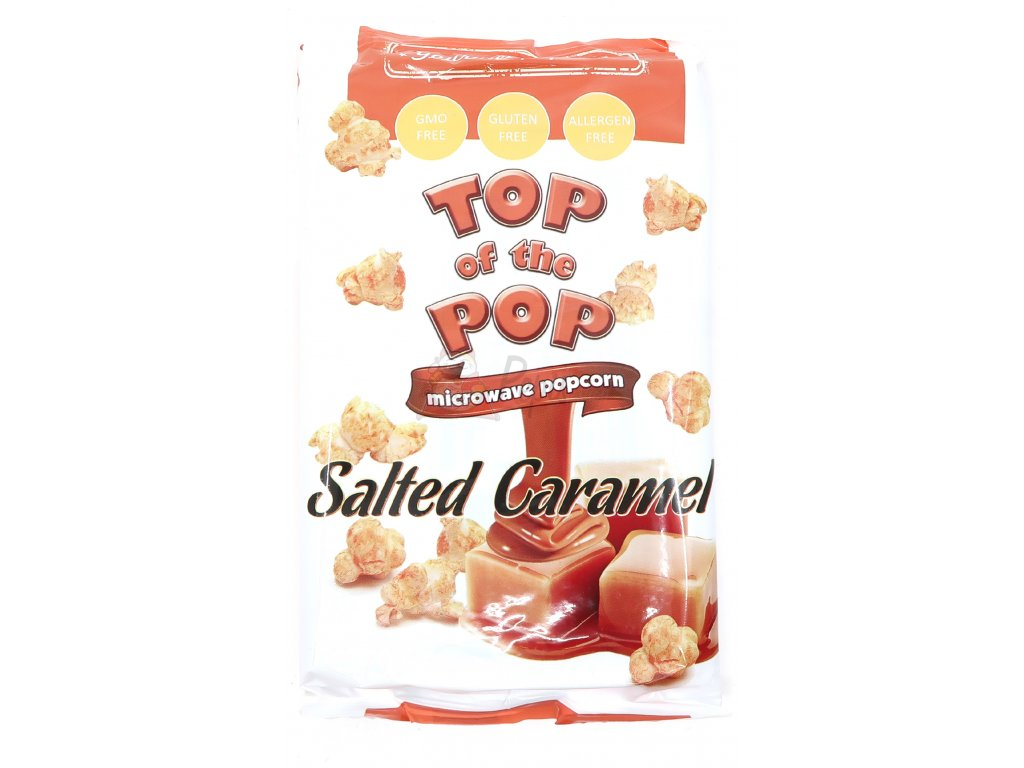 Top of the pop popcorn slaný karamel 100g BG