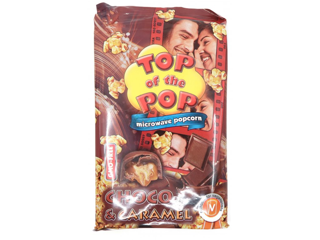 Top of the pop popcorn čoko karamel 100g BG
