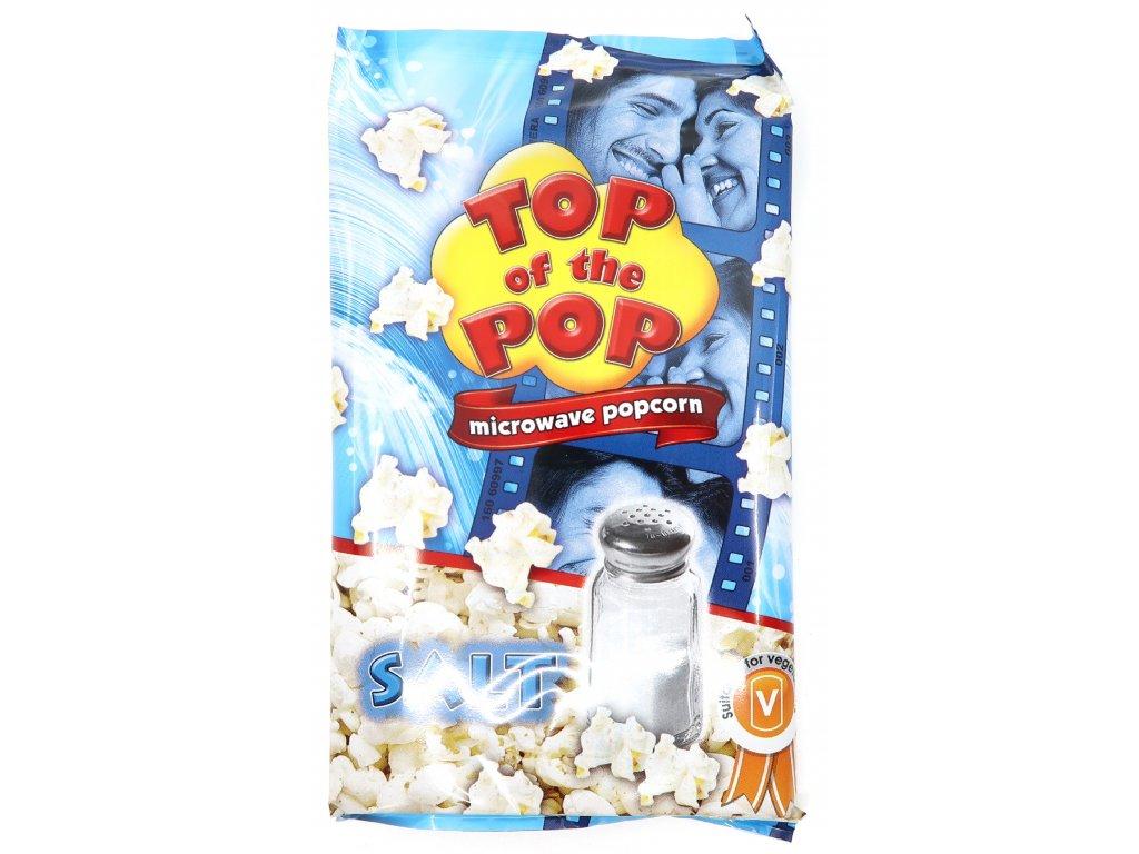 Top of the pop popcorn slaný 100g BG