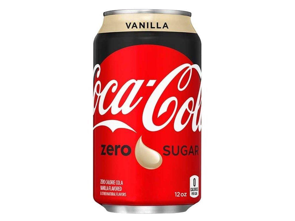 Coca Cola Zero Sugar Vanilla