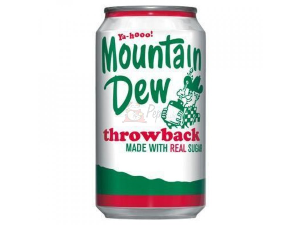 Mountain Dew Throwback 355ml USA