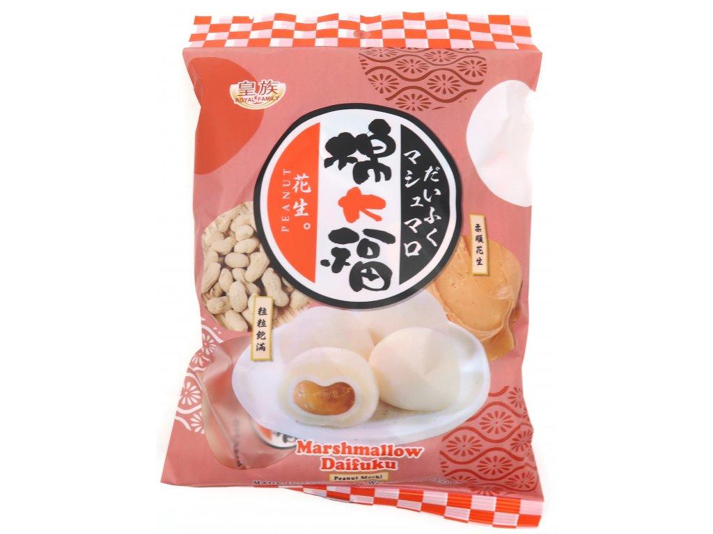 Mochi Marshmallow Rýžové Koláčky Arašídy 120g TW