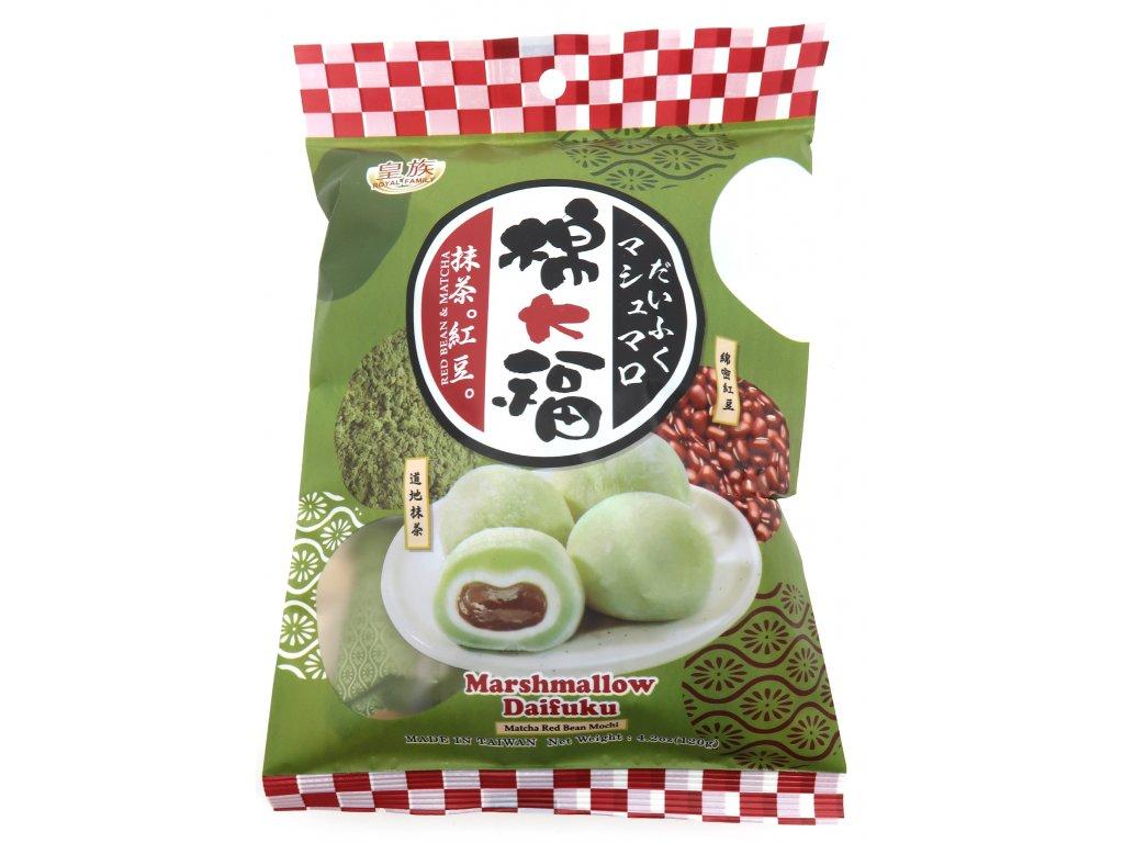 Mochi Marshmallow Rýžové Koláčky Matcha Červené Fazole 120g TW