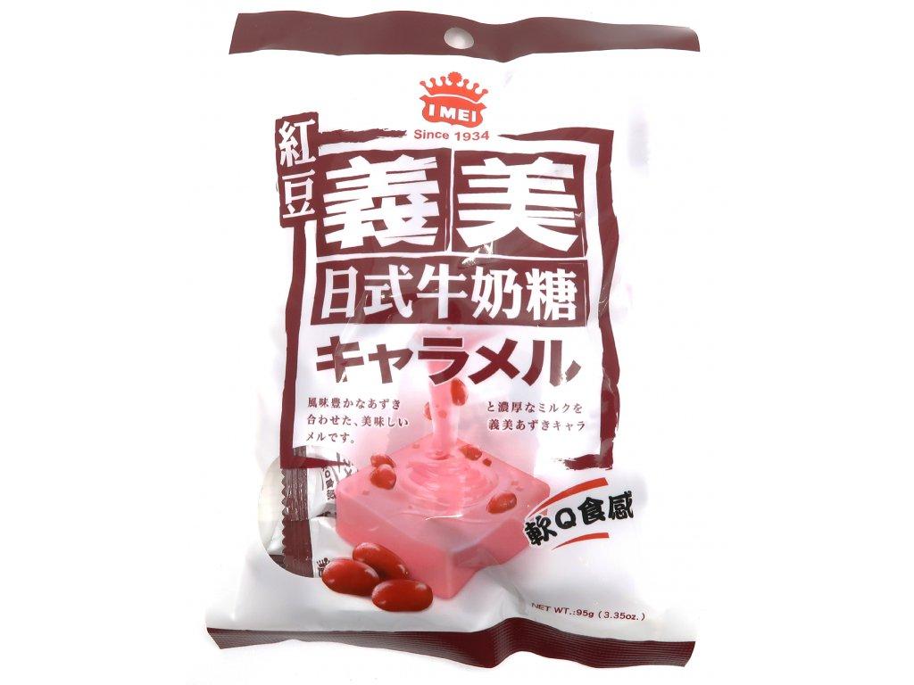 Žvýkací karamel červená fazole 95g TW