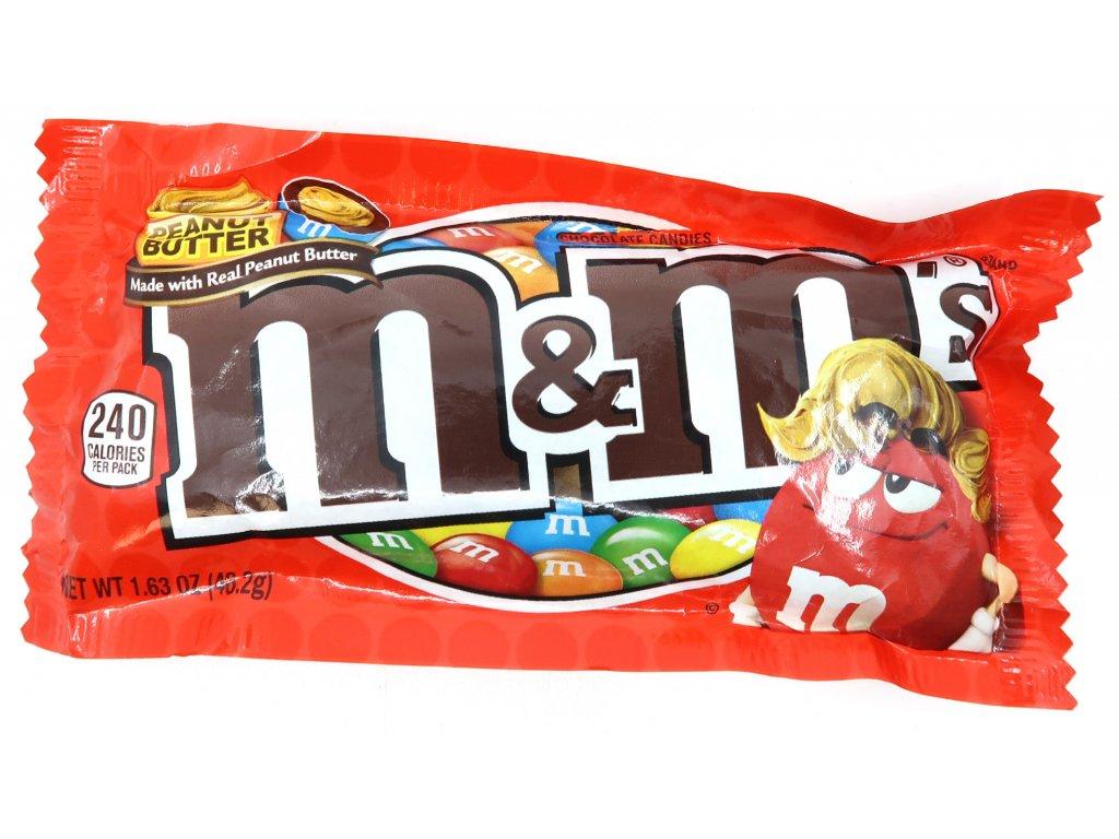 M&M's Peanut Butter 46,2g USA