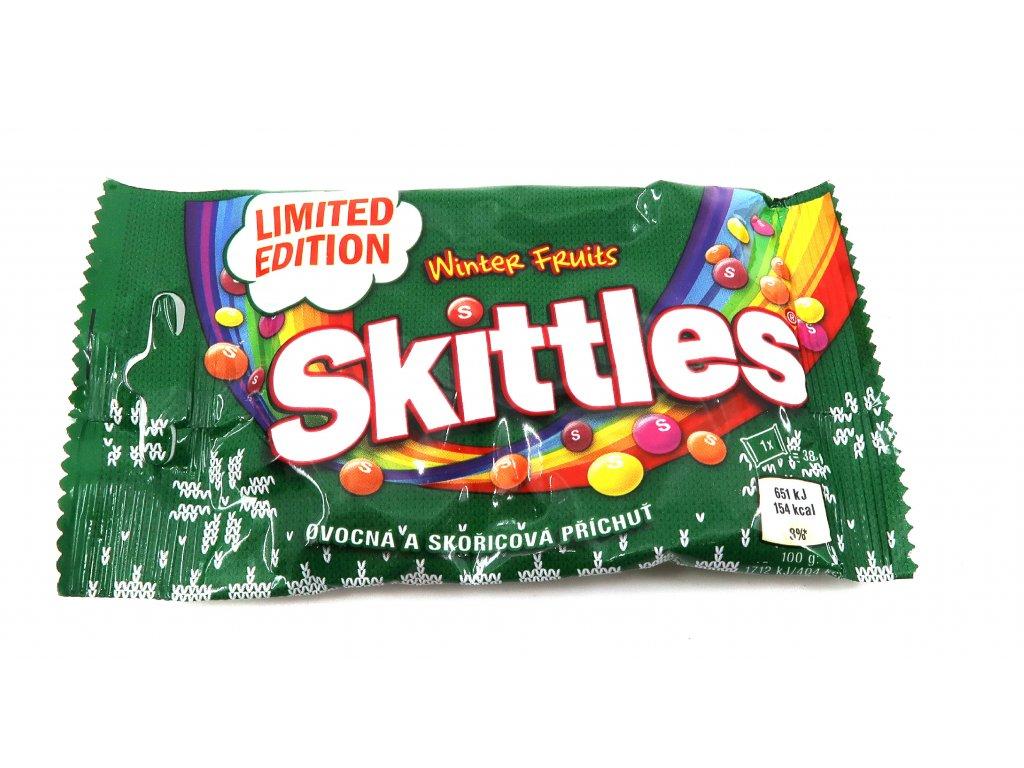 Skittles winter fruits 38g CZE
