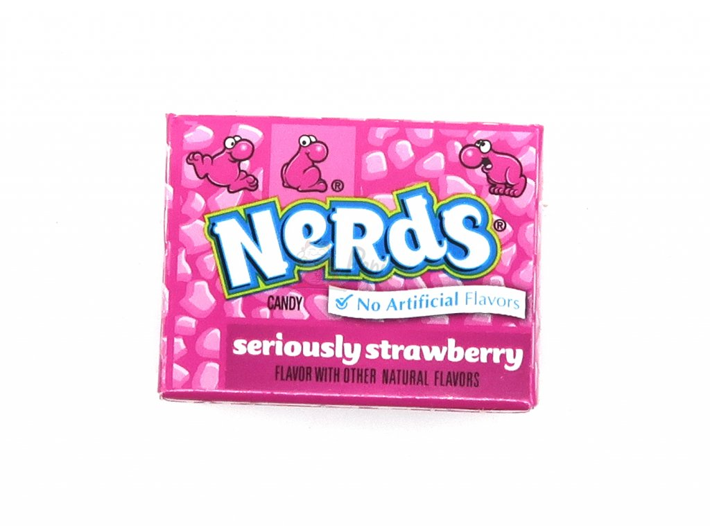 Nerds Mini Jahoda 14g USA