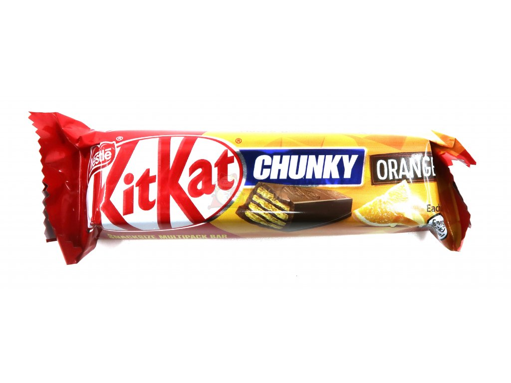 KitKat chunky orange UK