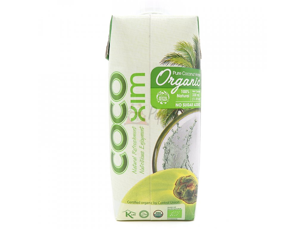 404 coco xim bio kokosova voda 330ml