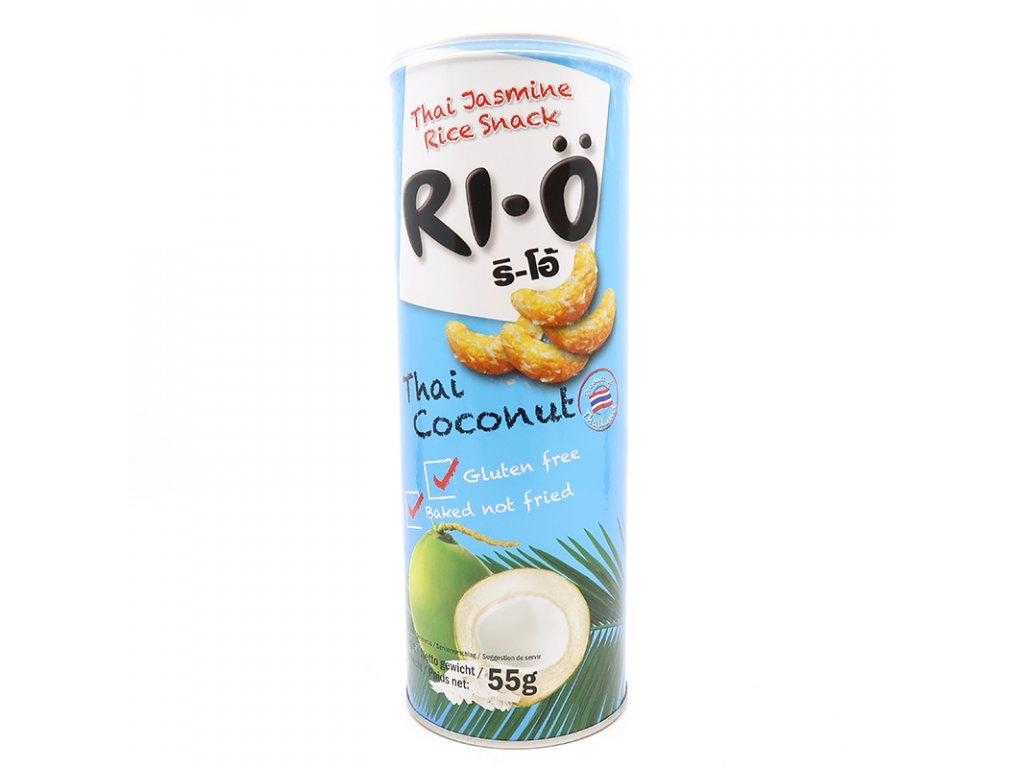 RI-O Rýžové chipsy s kokosem - PEPIS.SHOP