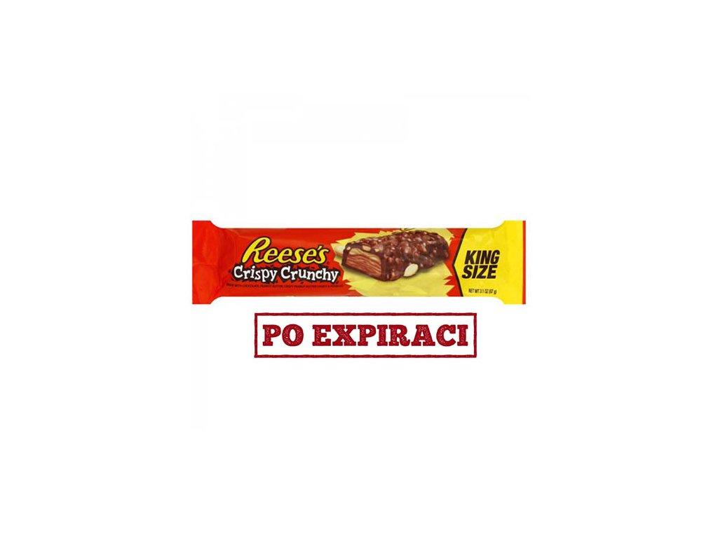 Po Expiraci Reese's Crispy Crunchy King Size 87g USA