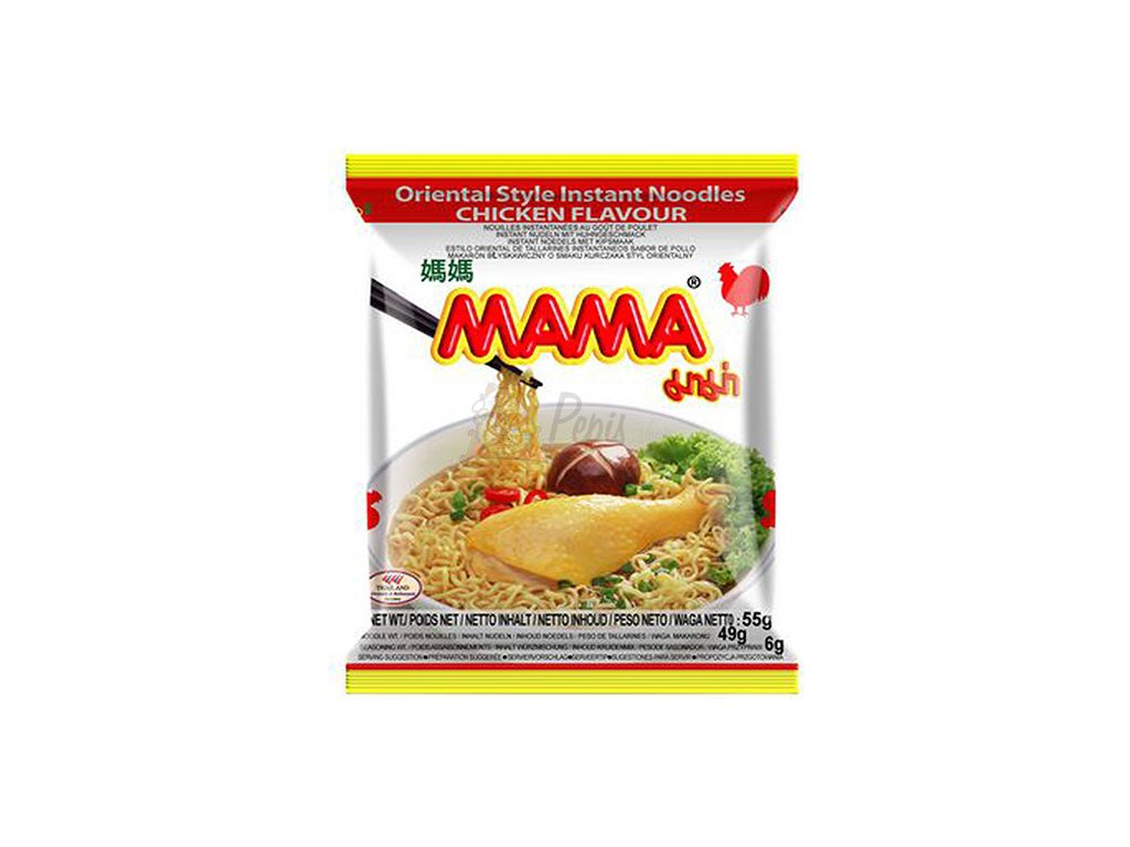 Mama Oriental Style Instant Noodles Chicken Flavour 55g