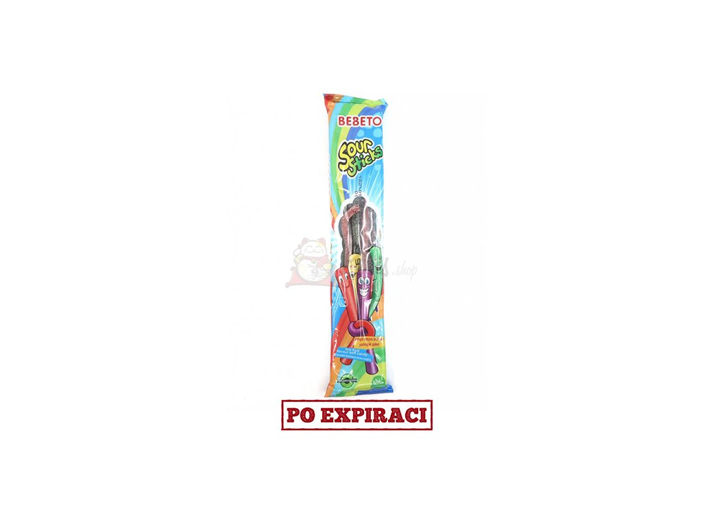 Bebeto Sour Sticks Pendreky Ovoce 35g TUR