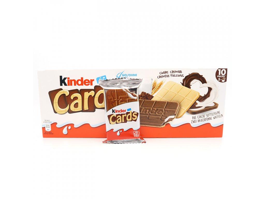 Kinder Cards balení, 128g - PEPIS.SHOP