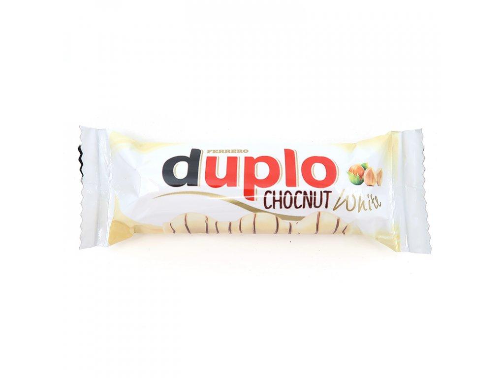 Kinder Duplo kokos a bílá čokoláda 1ks, 26g - PEPIS.SHOP