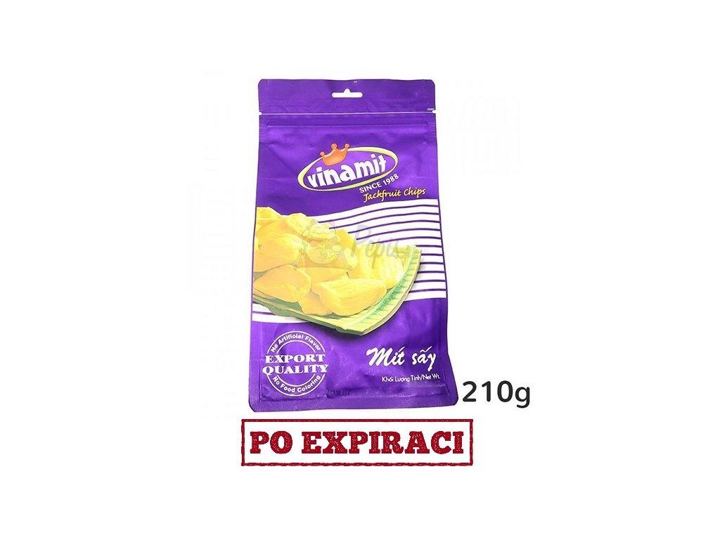 Po Expiraci Vinamit Jackfruit Chips 210g VNM