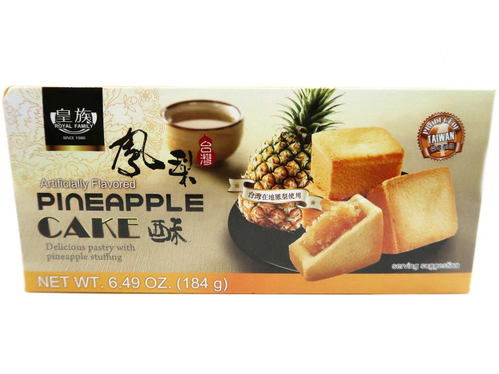 Royal Family Pineapple Cake Balení 184 TWN