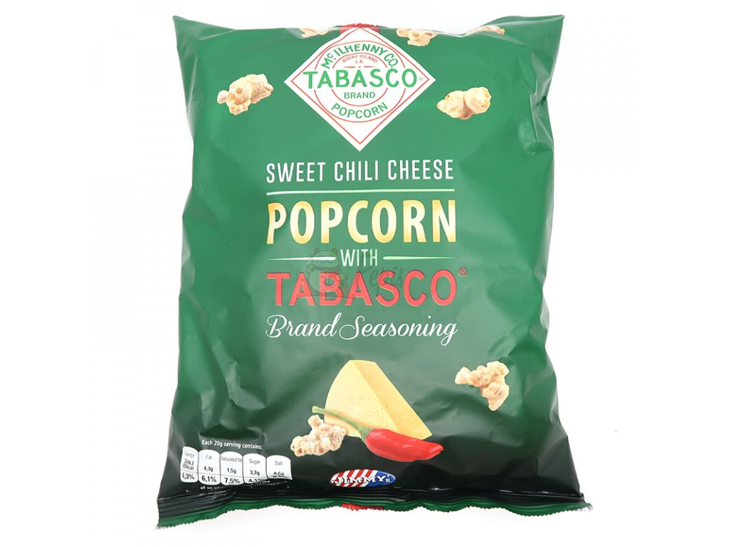 Sweet chili cheese popcorn, 90g - PEPIS.SHOP