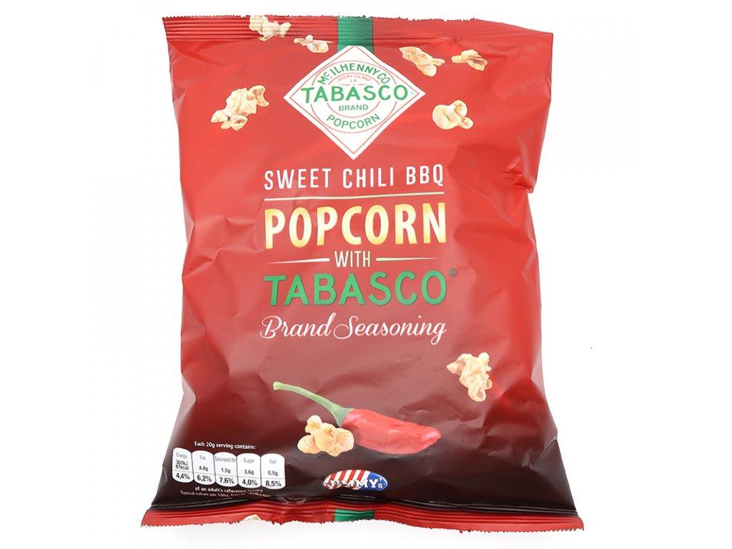 Sweet chili BBQ popcorn, 90g - PEPIS.SHOP