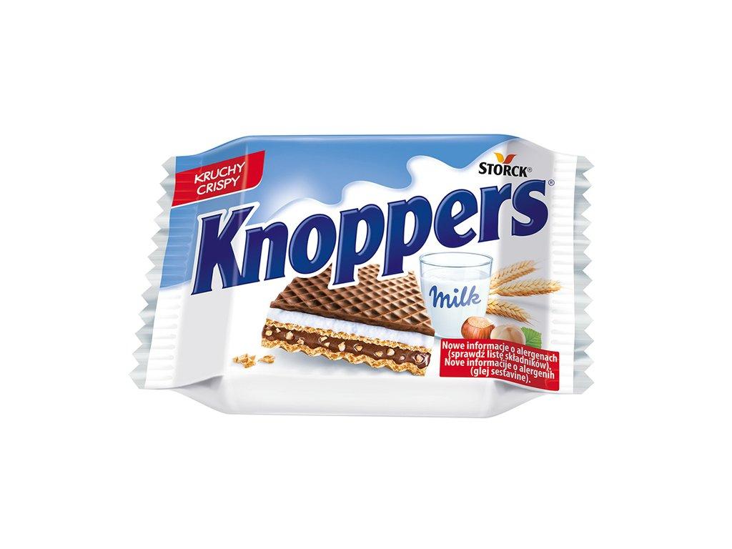 Knoppers Mléčná Sušenka Wafle 40g DEU