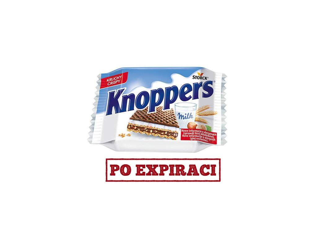 Storck Knoppers Milk Hazelnut 25g DEU