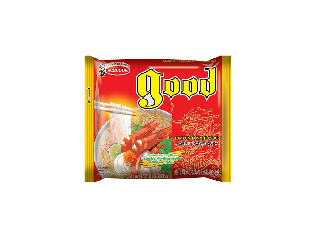 Acecook Instant Mung Bean Vermicelli TomYum Kung Flavour 55g