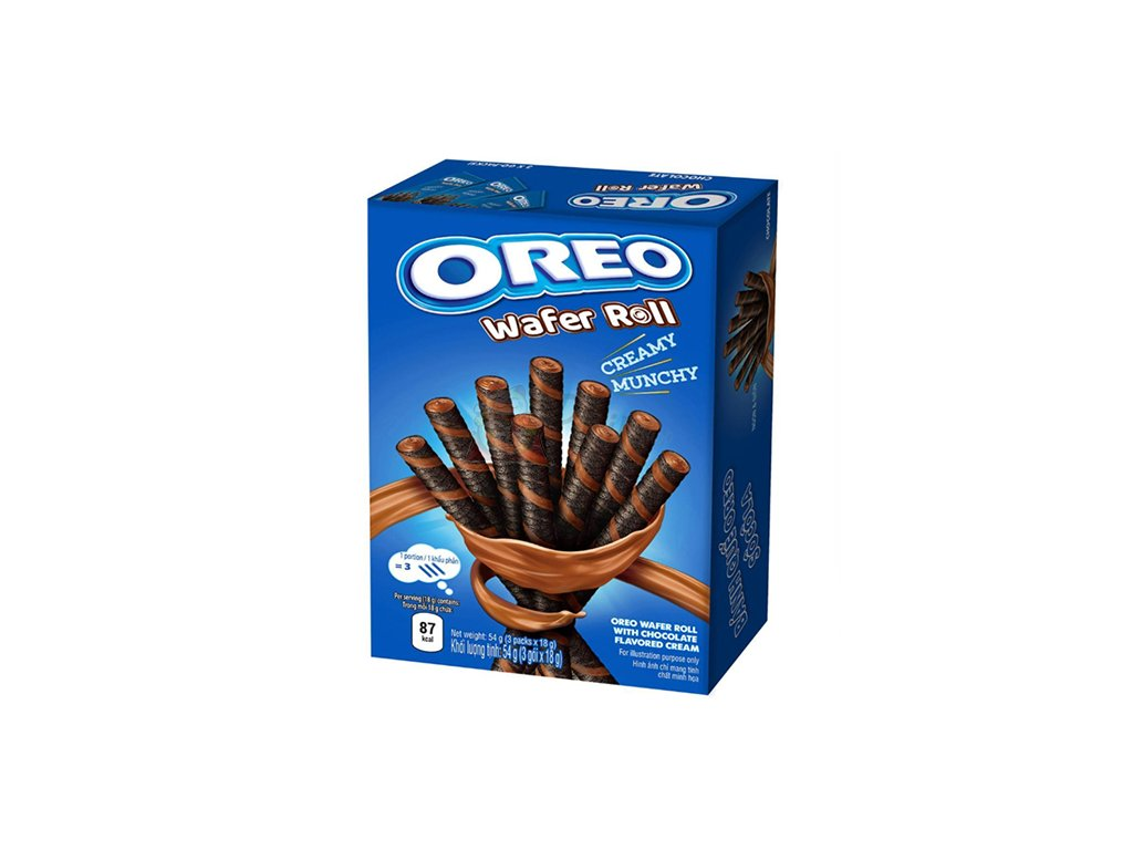 Oreo Wafer Roll Creamy Munchy 54g VNM