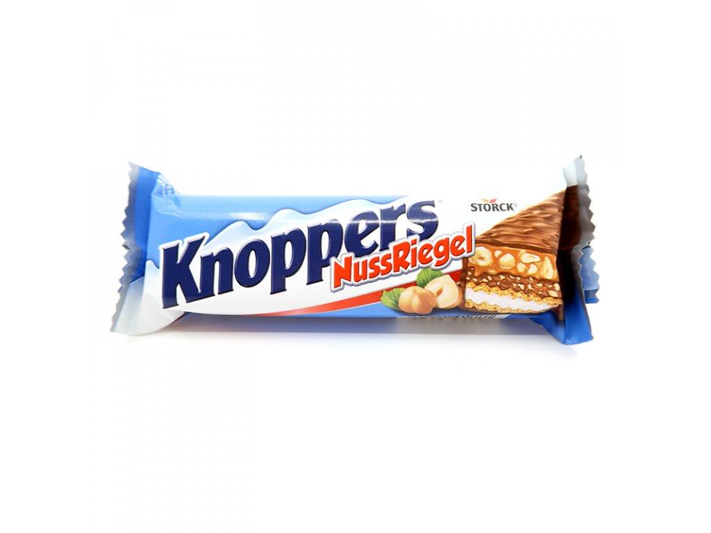Knoppers NussRiegel čokoláda, 40g - PEPIS.SHOP