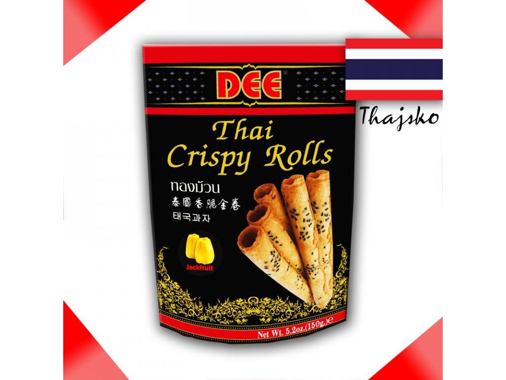 DEE Jackfruit/Chlebovník - Thajské Křupavé Rolky 150g - PEPIS.SHOP