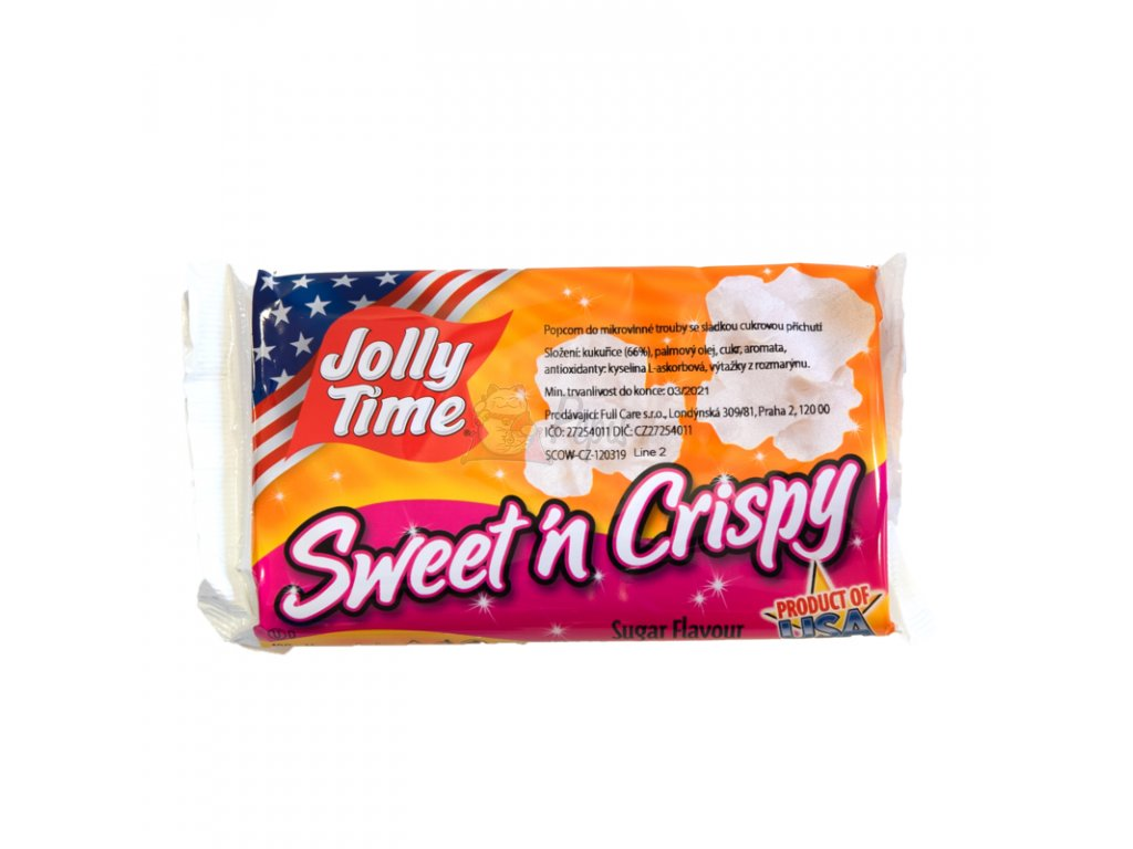 jollytime sweetncrispy