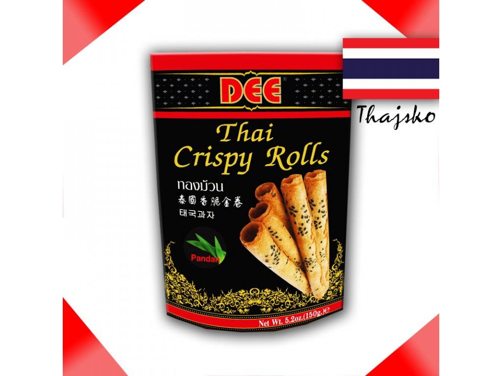 DEE Pandan - Thajské Křupavé Rolky 150g - PEPIS.SHOP