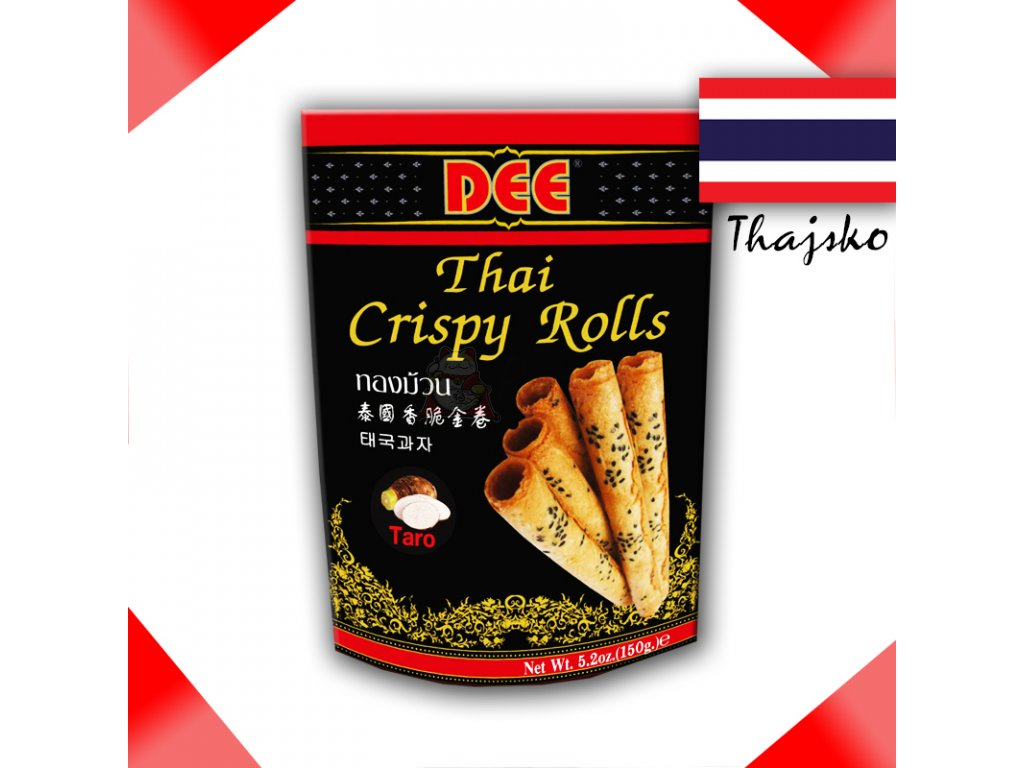 DEE Taro - Thajské Křupavé Rolky 150g - PEPIS.SHOP
