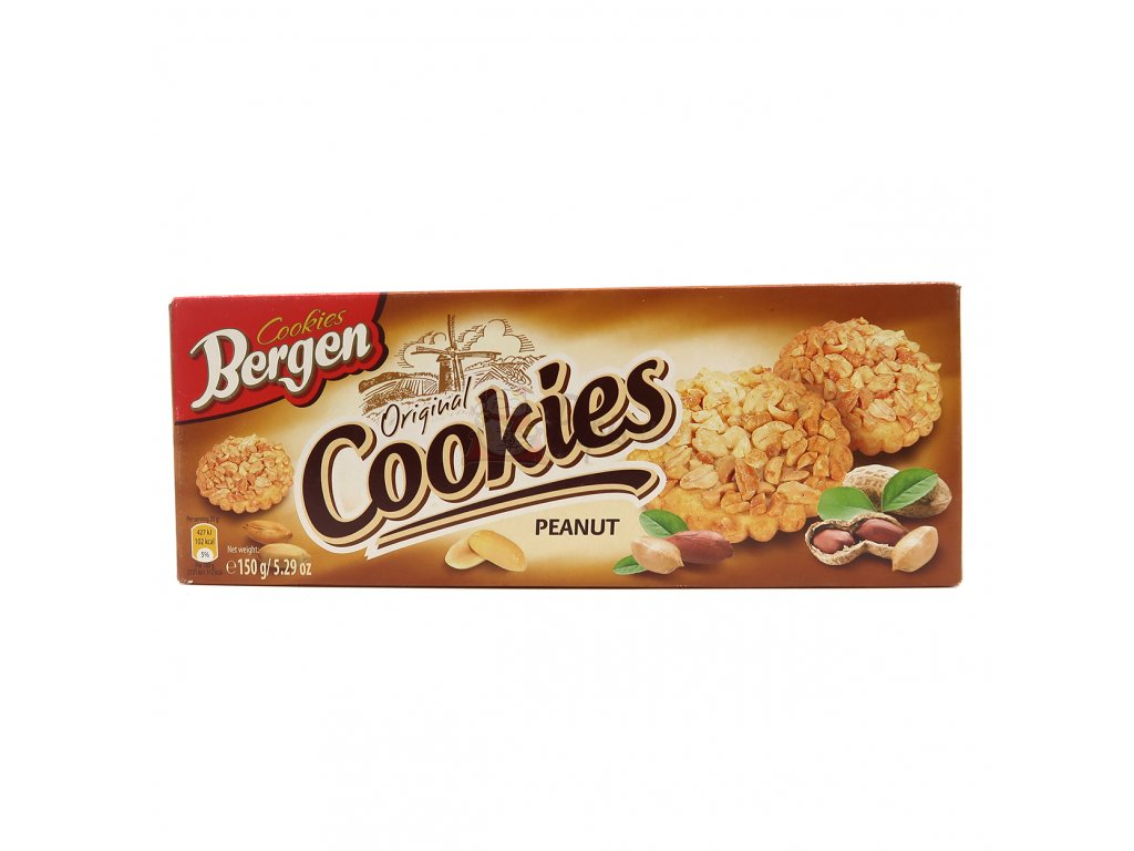 Bergen Cookies Peanut 150g PL
