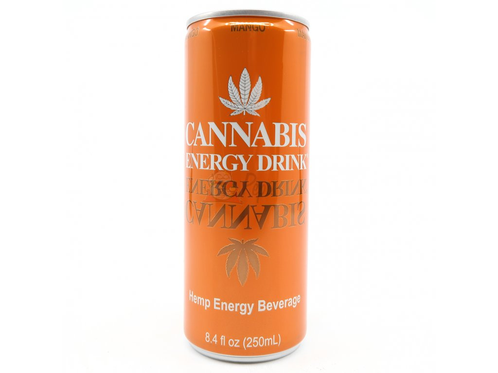Cannabis Energy Drink Mango 250ml AUT