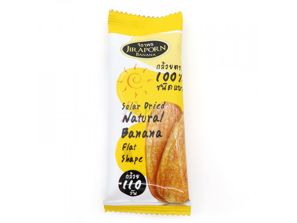 Solární sušený přírodní banán 1ks 20g - PEPIS.SHOP